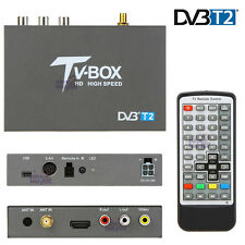 In Car High Speed DVB-T2 DVB-T TV Tuner Freeview Receiver Box H.264 HDMI USB PVR