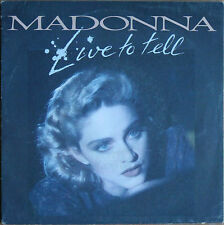 "MADONNA ""LIVE TO TELL""   45T 2 TITRES"