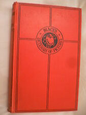 Black's Dictionary of Pictures. Randall Davies. 1921. A&C Black Ltd. 1st Edition