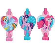 8 My Little Pony Friendship Childrens Birthday Party Loot Favor Treat Blowouts