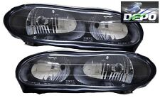 98 99 00 01 02 Chevrolet Camaro OE Style Black Head Lights SS Z28 DEPO