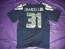 KAM CHANCELLOR #31 Navy Jersey Seattle Seahawks Large 44