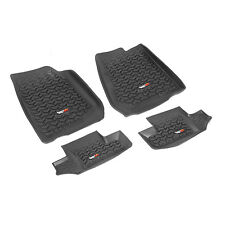 Floor Mat Liner Kit Fits:  Jeep Wrangler JK 2007-2016 Front And Rear 2 Door