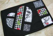 """Hearts Afloat"" Mug Rug Quilting/Sewing Pattern (free Valentine Day Mug Rug Set)"