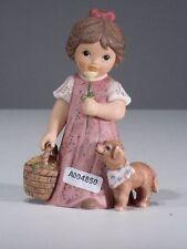 +# A004850_01 Goebel Archiv Muster Limpke Nina & Marco mit Blumenkorb und Hund