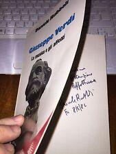 GIUSEPPE VERDI La musica e gli affetti DANIELE RUBBOLI con dedica autografa