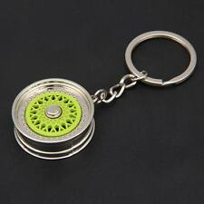 Fashion Creative Car Auto Metal Mini Wheel Rim Tyre Key Chain Keyring