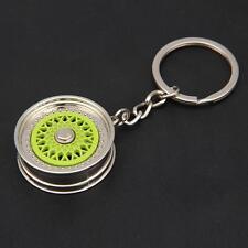 Fashion Creative Car Auto Metal Mini Wheel Rim Tyre Key Chain Keyring