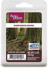 Better Homes and Gardens Warm Rustic Woods Fragrance Cubes $5.79 FREE SHIPPING