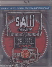 SAW: THE FINAL CHAPTER (UNCUT) - CLEAR CASE *BLU-RAY + DVD*