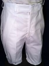 MEDICAL ASSIST MENS TROUSERS COOK UNIFORM PANTS US MILITARY SCRUBS WHITE 31L NWT