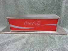 Vintage Coca-Cola Coke Soda Fountain Machine Lighted Topper Light Sign