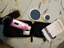 NO! NO!  Hair Removal System Model 8800 PINK With Case - Excellent Condition