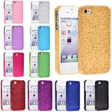 Glitter Bling sparkle Hard Case Back Cover for iPhone 4 4s  Purple