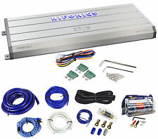 Hifonics Zeus ZRX2016.4 2000 Watt A/B Car Audio Amplifier+Amp Kit+Capacitor