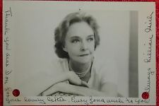 ORIGINAL LILLIAN GISH AUTOGRAPH SIGNATURE PHOTOGRAPH STAGE SCREEN TV ACTRESS