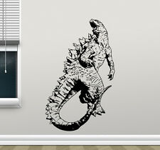 Godzilla Wall Decal Monster Movie Vinyl Sticker Poster Kid Art Decor Mural 93zzz