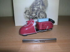 Atlas IWL Pitty weinrot DDR Motorrad Moped1:24 Roller Scooter