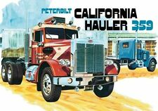 "AMT Peterbilt 359 ""CALIFORNIA HAULER"" CONVENTIONAL 1/25 Model Car Mountain New!"