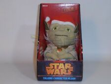 STAR WARS PELUCHE CON SONIDO SANTA YODA TALKING PLUSH 18 CM