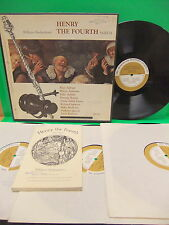 William Shakespeare Henry The Fourth Part II 60's 4LP Box Set VG++ SRS M 218