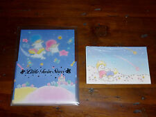 VINTAGE 1976-85 88 SANRIO LITTLE TWIN STARS LETTER SET ENVELOPES STATIONERY LOT