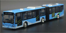 1:18 Alloy bus Pull Back Long double bus alloy car models kids Toys Bus Peking