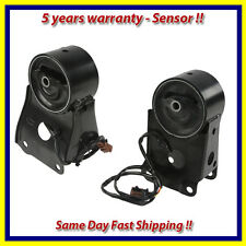 Engine Motor & Trans Mount Set 2PCS for 95-03 Nissan Maxima 3.0/3.5L w/ Sensors