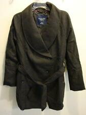 NWT Women AE American Eagle Dress Coat GRAY L