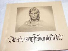 Sammelalbum Die schönsten Frauen der Welt 1929-1932  (0410)