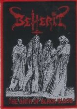 BEHERIT - The Oath Of Black Blood - Woven Patch / Aufnäher