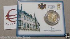 Coin card 2 euro 2015 Lussemburgo Luxembourg Luxemburg 125 Nassau Weilburg