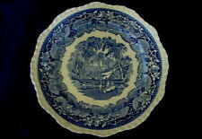 Collectible Vintage/Antique MASON'S Vista Blue Scenic Plate - Made in England