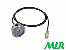 MECHANICS MECHANICAL REMOTE MASTER ENGINE OIL PRESSURE GAUGE / TESTING KIT WR