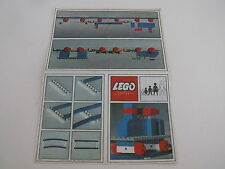 Lego notice 3164 de 1966 / Train Ideas Leaflet (3164) from 1966