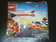 Sealed ! SHELL LEGO V-Power Ferrari 40194 FINISH LINE AND PODIUM