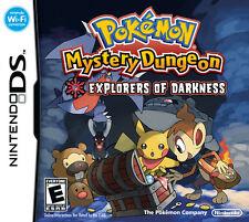 Pokemon Mystery Dungeon: Explorers Of Darkness DS Game Only