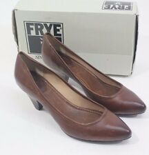 NEW Frye Regina Womens Pumps Casual Shoes Heels Cognac Size US 11 M  $ 178