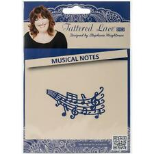 "Tattered Lace Dies ~ Musical Notes, 1.1/2"" X 2.3/4""  137761 ~ NIP"
