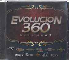 CD - Evolucion 360 Vol. 2 NEW Los Del Arroyo Grupo El Reto Y Mas FAST SHIPPING !