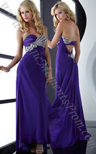 Prom Dress / The company is Jasz Couture. The size is 00. The color is purple