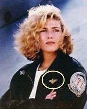 FANCY DRESS HALLOWEEN COSTUME PROP: MOVIE TOP GUN Kelly McGillis' Aviator Wing