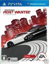 Used PS Vita Need for Speed Most Wanted SONY PLAYSTATION JAPANESE IMPORT