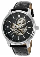 @NEW Invicta Vintage Automatic Black Leather and Dial Stainless Steel 22577