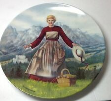 The Sound Of Music Collectors Plate #1 Edwin M Knowles 1986 Limited Edition