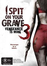 I Spit On Your Grave 3 - Vengeance Is Mine (DVD, 2015)