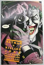Batman Joker Origin The Killing Joke HIGH GRADE! KEY Alan Moore Story! 4th Print