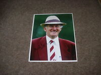 Martin PIPE of WELLINGTON Horse Racing Trainer  2/07/96  Hand SIGNED Press Photo