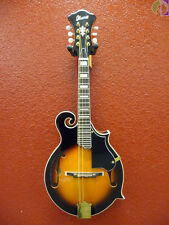 Ibanez M522S F-Style Mandolin, Solid Spruce Top, Brown Sunburst High Gloss
