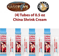 (4x) Tubes China Shrink Cream Tight Vagina Tightening Sex Lube Women .5oz. Nass